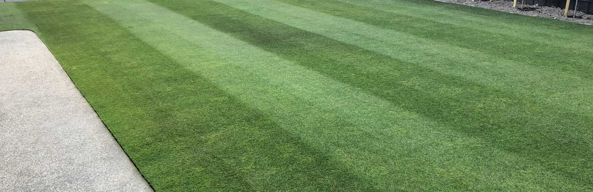 Christchurch lawn mowing services with Wright Lawn Care