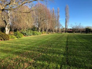Lifestyle property lawn mowing services